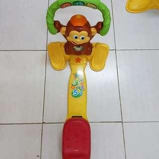 Vtech push and pull monkey