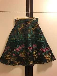 Floral skirt in Brocade-Brand New