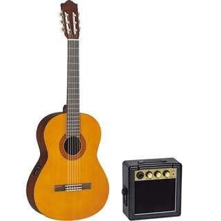 Yamha CX40 Electric Classical Guitar + $30 5w Micro Guitar Amp (limited stock) (limited time)