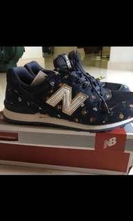 BN New Balance WR996 Floral Navy Blue