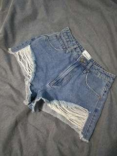 Abrand Denim Shorts