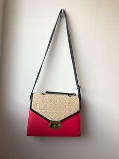 Pink Side/Cross-body Bag