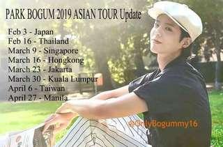 PARK BOGUM 2019 Asia Tour Singapore Presscon