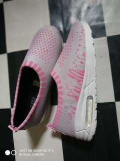 Sneaker Pink Grey Mulus Slip On