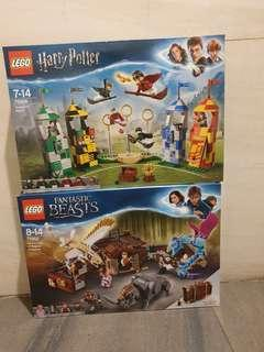 75956 and 75952 Lego Bundle Harry Potter and Fantastic Beasts