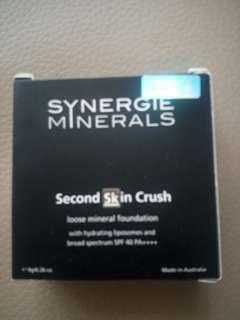 Synergie minerals second skin crush