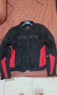 Dainese Air Frame Tex - Black/Red