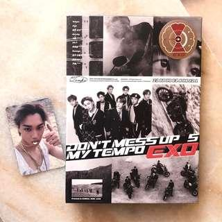 EXO Don't Mess Up My Tempo / unsealed / with PC