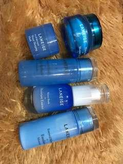 Laneige travel kit essentials( free gift included)