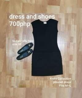 FREE SF Black dress and flats