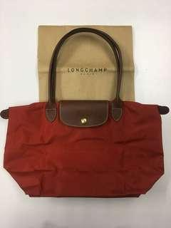 Authentic Longchamp Small Long Handle
