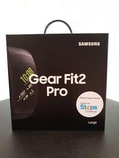 BNIB Samsung Gear Fit2 Pro R365 Fitness Band Large Size