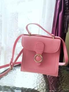 NEW- Tas Miniso sling bag pink