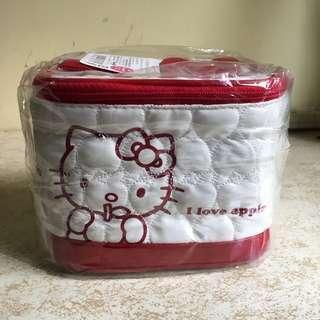[全新] Hello Kitty 化妝袋 化妝包 盒 女生 唇膏 護膚 生日禮物 交換 抽獎禮物