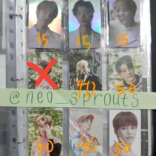 [WTS] NCT PHOTOCARDS