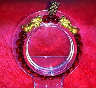 🚚 Pure 999 gold Pixiu Bracelet (custom made)