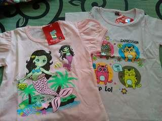 Baju Kaos Anak size M