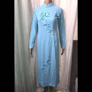 SEXY CHINESE LONG DRESS (preloved)