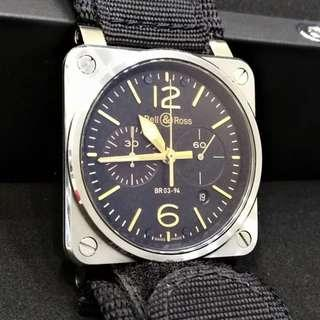 Bell and Ross BR03-94 Aviation Golden Heritage Chronograph