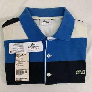 🚚 Lacoste polo衫 藍白黑