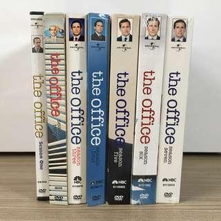 The Office US DVD box set Seasons 1 to 7 / Dunder Mifflin Michael Scott Dwight Shrute Jim Pam Halpert Angela Martin
