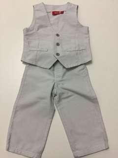 Boy formal vest pants party 男童 禮服 長褲 背心 派對