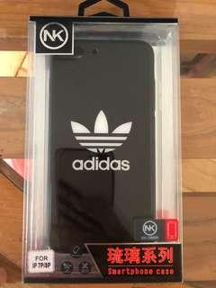 Adidas protective glossy glass cover Iphone 7/8 plus