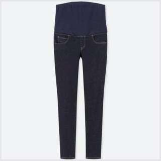 🚚 Uniqlo Maternity Denim Jeans