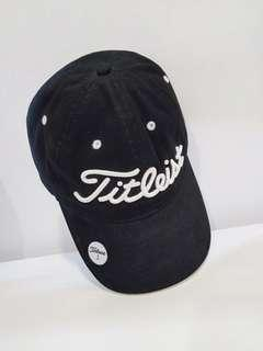 Authentic Titleist Black Cap