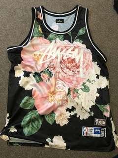 Stussy Tribe Floral Jersey Size XL