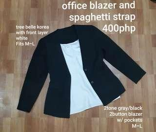 FREE SF Blazer and top