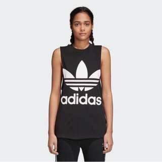 🚚 BN Adidas Originals Trefoil Tank Top