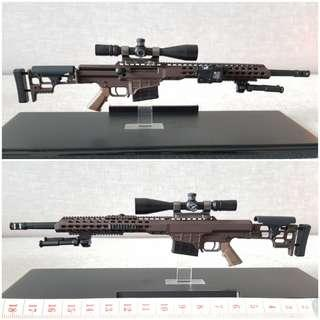 1/6 MRAD Barrett MSE by Easy & Simple [Diorama / Phicen / TBLeague / Hot Toys / Weapon / Rifle / Gun / Sniper]