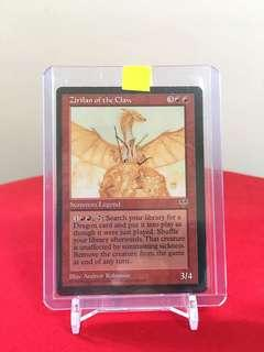 Magic the Gathering Zirilan of the Claw Mirage expansion