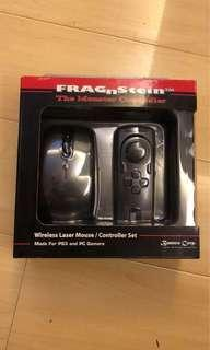 Made for PS3 and PC games FPS wireless controller