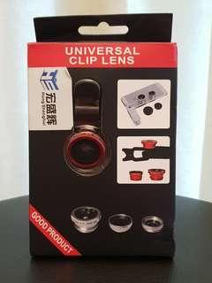 Universal Clip Lens/ Phone lens/ Fisheye Lens