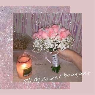 ROM bridal hand bouquet