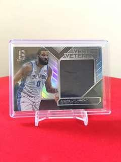 Nba card Andre Drummond Pistons game used jersey card