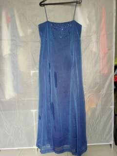 Blue Prome Dress