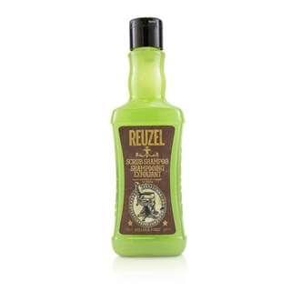 Reuzel Scrub Shampoo 350ml Deep Cleaning Hair & Scalp Exfoliation - SG Pomades Mens Grooming