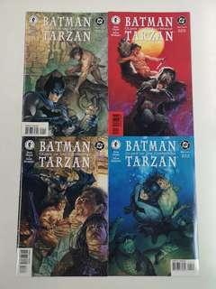 Batman Tarzan Claws of the Catwoman (1999) Comics Set