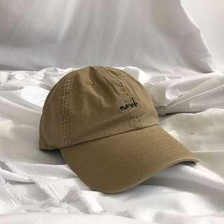 🚚 Otoshi 卡其老帽 墨綠刺繡 奶茶色 帽