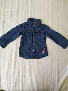 Baby Polo Denim Shirt