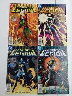 Legends of the Legion (1998) Comics Set