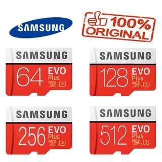 Samsung MicroSD Card / 64GB 128GB 256GB 512GB Samsung SD