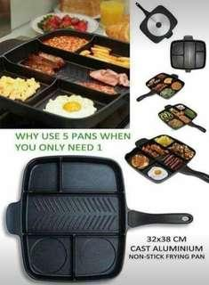 5 in 1 cooking pan