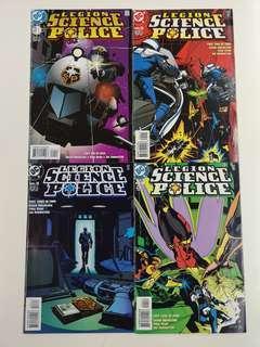 Legion Science Police (1998) Comics Set