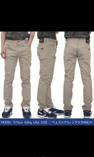 Dickies 810 卡其 直筒褲 長褲