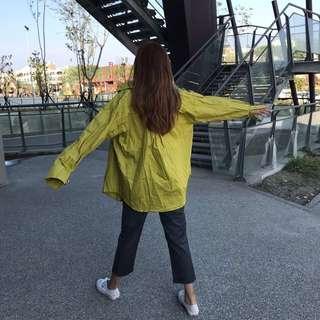 🚚 2004 Otoshi 牛油果🥑 綠色 極鮮空運 襯衫
