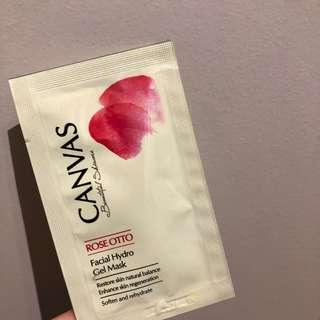 Canvas rose otto facial hydro gel mask